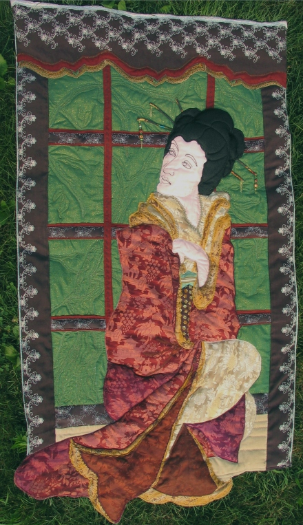 da-hong-pao-applique-embroirdered-art-quilt