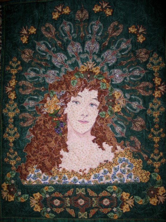 Thalia-honorable-mention-Kauffman-quilt-quest