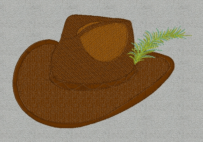 cowboy-hat-with-feather-embroidery