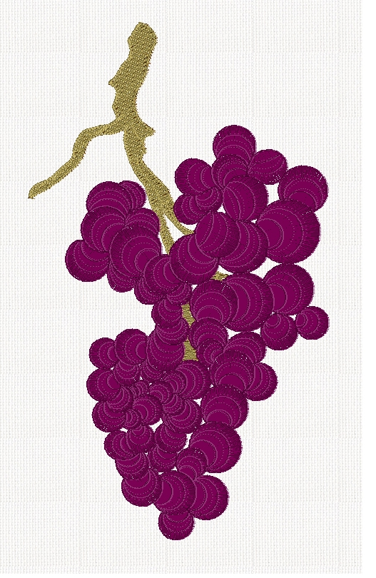 grape-bunch-fruit-embroidery