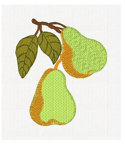 pears-fruit-embroidery