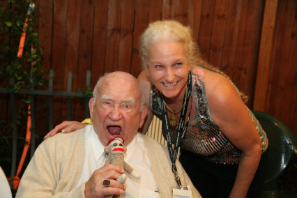 Jennifer Wheatley-Wolf-Ed Asner-Wally