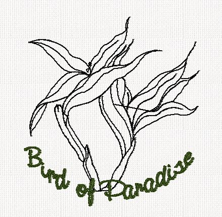 botanical-bird-of-paradise-flower-redwork-embroidery
