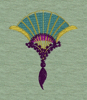 asian-fan-tassel-filled-redwork-embroidery