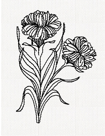 carnation-redwork-embroidery