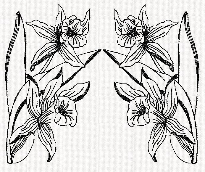 orchid-double-redwork-embroidery