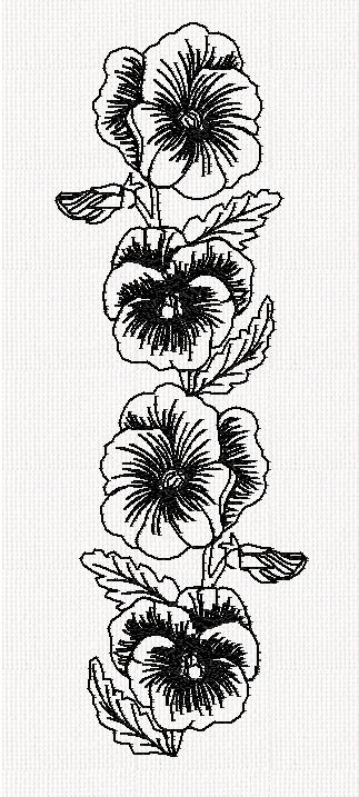 pansy-border-redwork-embroidery