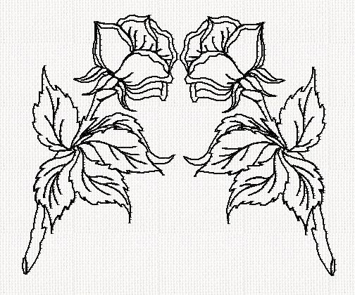 rose-dbl-redwork-embroidery