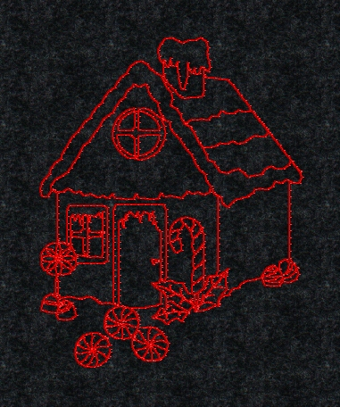 Gingerbread - Applique Machine Embroidery Designs