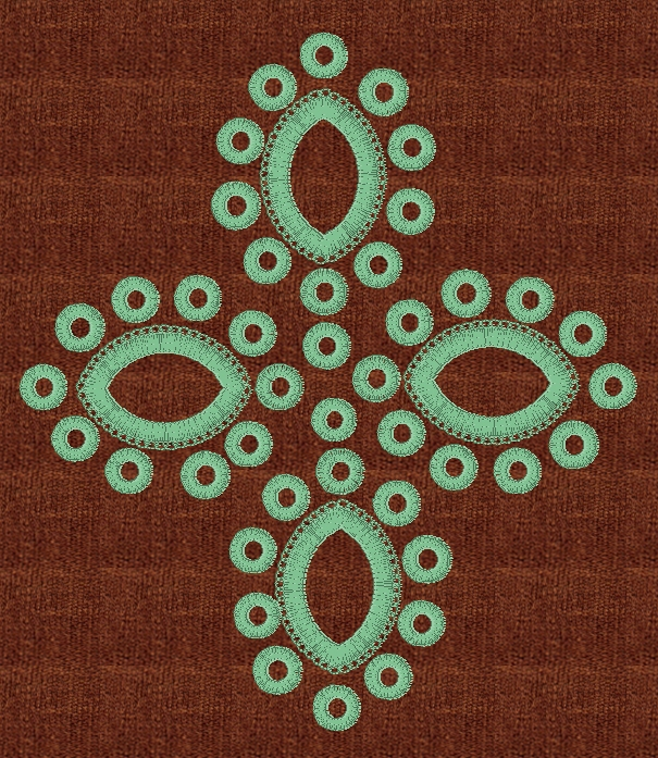 Image gallery eyelet embroidery