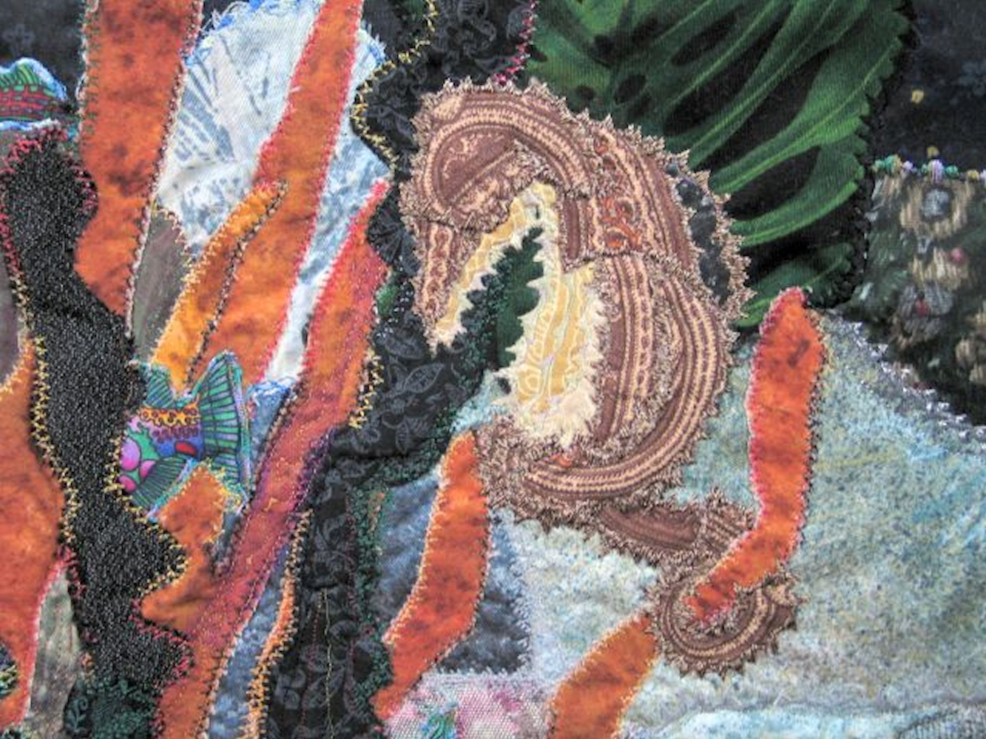 Aquarium quilt-jennifer Wheatley-Wolf