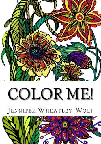 Color Me! adult coloring book 1