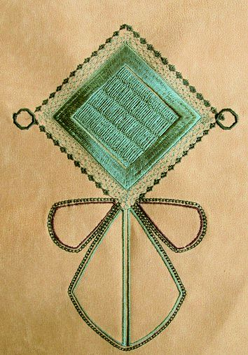 my-goldwork-square-ornament-abstract-embroidery