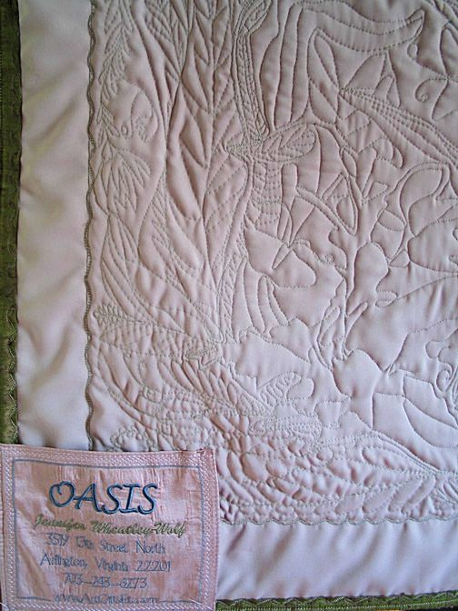 oasis-orchids-quilting stitching-detail